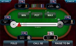 rush tavolo da poker mobile