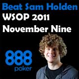 wsop 2011 november nine sam holden 888 poker