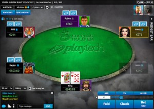 six plus holdem poker