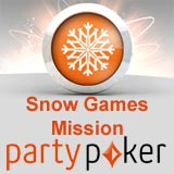 snow games mission - partypoker