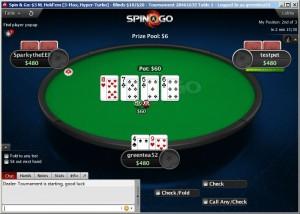 Spin & Go Poker Stars