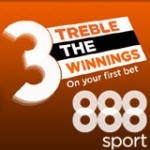 888sport Treble Odds - Sports Betting Online