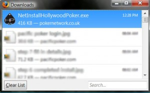 locating hollywoodpoker download