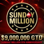 Sunday Million 9° Anniversario PokerStars