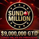 Pokerstars Sunday Million 9th årsdag 2015