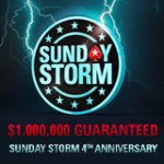 Sunday Storm Pokerstars firar 4th årsdagen