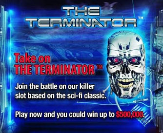 PartyCasino the terminator slot