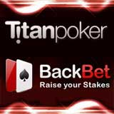 titan poker backbet