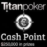 titan poker cash point promotion