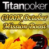 Titan Poker Oppdrag Oktober