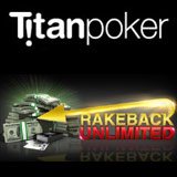 Titan Poker rakeback illimitato