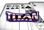 titan poker royal flush