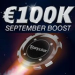 Titan Poker September Boost Forfremmelse