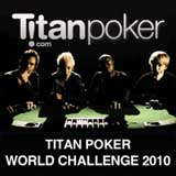 desafio do mundo Titan Poker