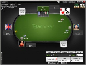 titanpoker speed holdem poker