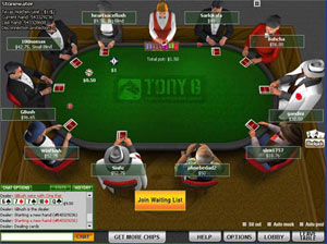 Tony G Poker bonus