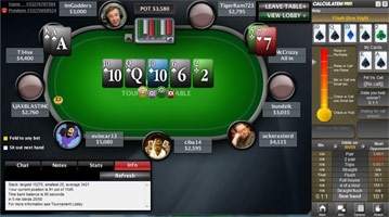 Tool Odds Poker on-line