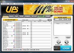 ub.com - UB Poker lobby