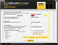 ultimatebet poker, how to enter Ultimatebet referral code
