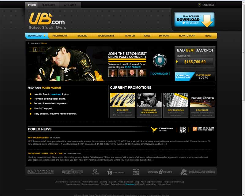 ultimate bet poker free download