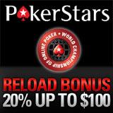 WCOOP 2012 PokerStars Reload Bonus