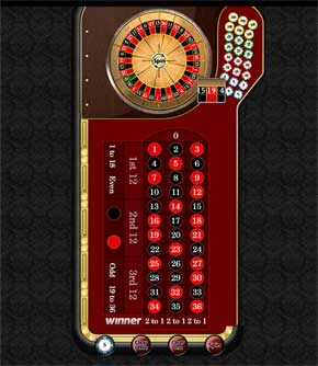 winner casino mobile roulette