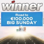Winner Poker Road to €100K Big Sunday