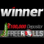 Winner Poker Freeroll Turnering Serie December