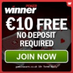 Winner Poker Gratis 10 USD Bonus