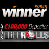 Winner Poker Freeroll-Turnierserie