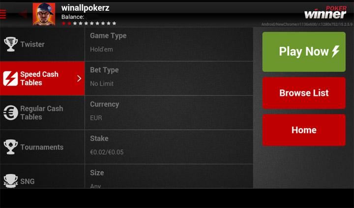 winner poker mobile lobby