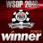 Winner Poker Satellites WSOP 2013