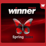 winner poker spring sales