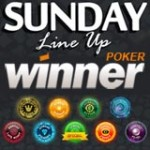 Winner Poker Tournaments Sunday Line-up