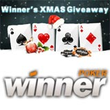 winner poker xmas giveaway