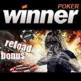 WinnerPoker Reload Bonus Spesialtilbud