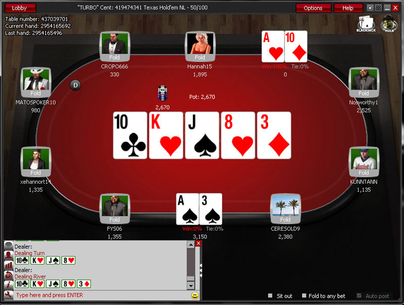 free texas holdem tournaments software companies