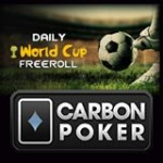 World Cup Freeroll Toernooi op Carbon Poker