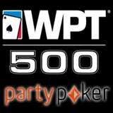 WPT 500 Qualificadores no PartyPoker