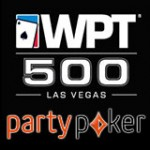 Party Poker WPT 500 Las Vegas Satelliter