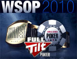 WSOP 2010 poker Full Tilt
