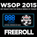 WSOP gratis turneringar 2015 - 888poker