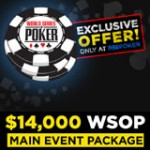 WSOP Freeroll 2015 - Main Event GRATUIT