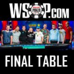 WSOP Main Event 2018 Final Six Players
